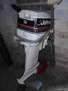 johnson 15hp outboard Gosford Gosford Area Preview