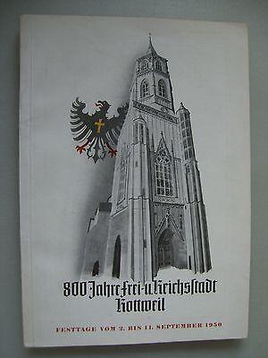 800 Jahre Frei- und Reichsstadt Rottweil 1950