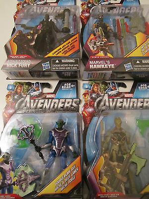 Avengers  lot figure loki nick fury hawkeye