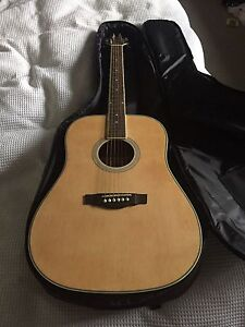 ashton acoustic guitar. Northcote Darebin Area Preview