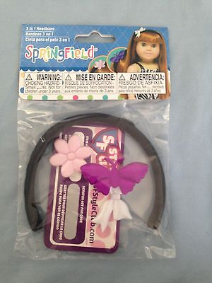 """Springfield Doll Clothes-Accessories Headband -fits American Girl or18"""" dolls"""