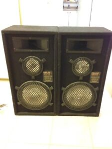 Proline acoustic speakers