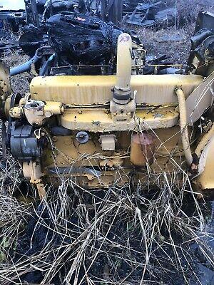 Allis Chalmers 2900 Turbo Diesel Engine Good Runner Complete 545 Loader 301t