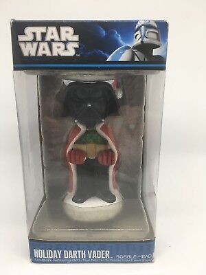 Star Wars Holiday Darth Vader Holiday Bobblehead by Funko Christmas