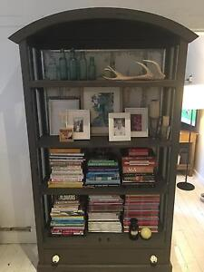 Used grey timber bookshelf for sale Northbridge Willoughby Area Preview