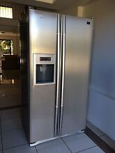 LG stainless side by side fridge freezer with ice maker Thornlands Redland Area Preview