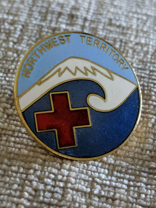 American Red Cross ARC Pin Northwest Territory Bin 8/24