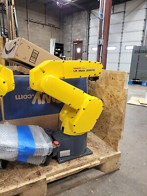 Fanuc Lr Mate 200ic Industrial Robot With R-30ia - Refurbished.