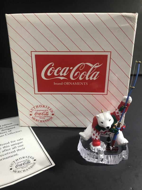 Coke Coca Cola Ornament Cavanagh