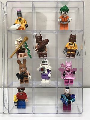 DISPLAY / Carrying Case - Perfect For LEGO Batman / Movie Holds 12 Minifigures!
