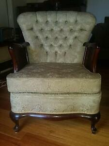 a pair of beautiful winged back arm chairs Chelsea Heights Kingston Area Preview