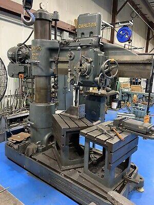 Used 4 X 11 Column Carlton Radial Arm Drill Press Dp