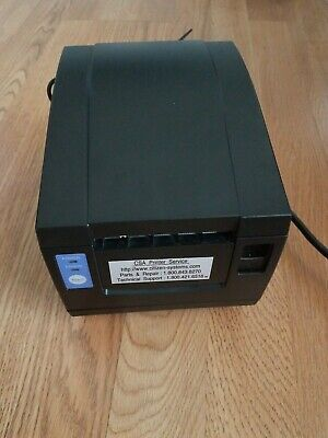 Citizen Cbm 1000 Thermal Receipt Printer Serial Port Includes Power Cords