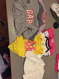 10 size 3-6 mth girl tops