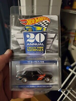 2020 20th Hot Wheels Charlotte NC Nationals Finale 71 Datsun 510 #784
