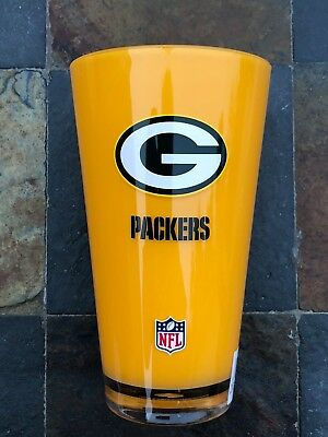 20 oz. Green Bay Packers Acrylic Insulated Tumbler - Team Tailgate Party Cup - Packers Tailgate Party