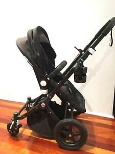 SOLD Bugaboo Cameleon 3 – Premium Black Chassis and Black Canopy