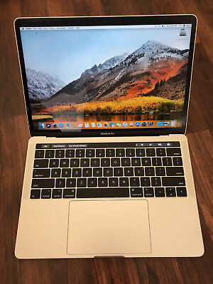 2017 MacBook Pro TouchBar 13 3.1 Ghz i5  8GB 256 OFFICE LOGIC X Final Cut X