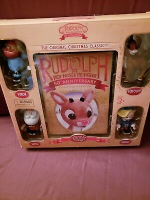 Rudolph The Red-Nosed Reindeer: 50th Anniversary Collector [DVD, - Rudolph The Red Nosed Reindeer Set