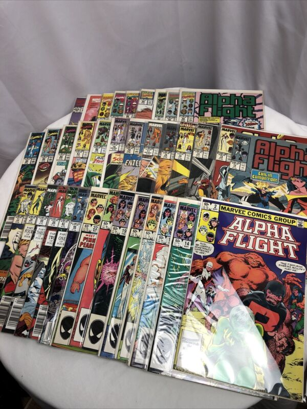 LOT 36 ALPHA FLIGHT MARVEL #2 1983 - #101, Special 1992+ - HIGH GRADE