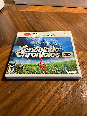 Nintendo 3DS Xenoblade Chronicles 3D - Brand New Sealed