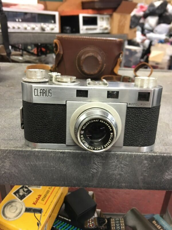 Clarius Model MS-35 Rangefinder 35mm Camera With Case