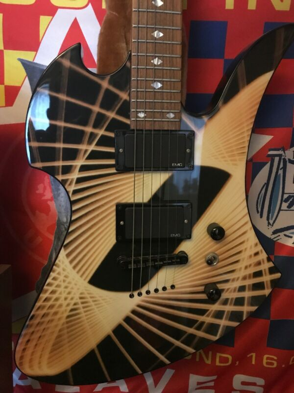 BC Rich Body Art Collection EMG Pickups