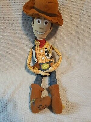 Toy Story Woody Plush Doll Disney Pixar Sheriff Figure Toy Hat Badge Small](Woody Sheriff Badge)