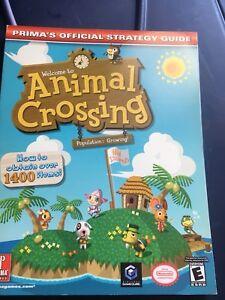 Original Animal Crossing Strategy Guide Prima's Official Nintendo GameCube Prima