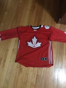 Official Adidas Team Canada World Cup of Hockey Jersey