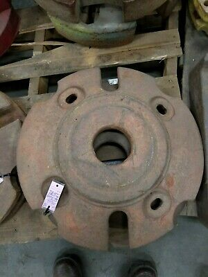 Allis Chalmers Tractor Back Rear Wheel Weight Set Wd Wd45 D17 Am2795-10