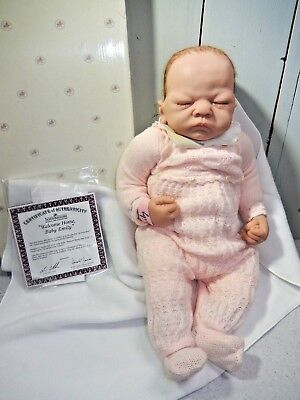 ASHTON DRAKE WELCOME HOME BABY EMILY REBORN DOLL SO TRULY REAL for sale  Shipping to Canada
