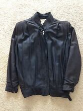 Frantic black leather jacket Cronulla Sutherland Area Preview