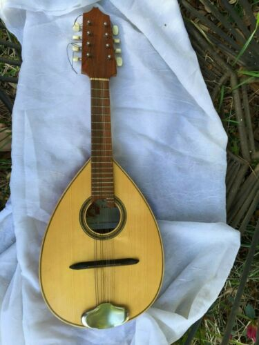 Rare VTG A Doltras Cordoba Hand Made in Barcelona Spain Mandolin Guitar Gorgeous