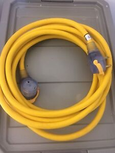 RV 30 amp extension cord 25 ft long