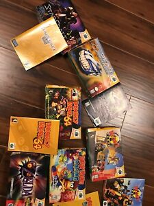 N64 boxes and guides