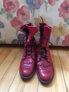 Justin Roper lace-up boots