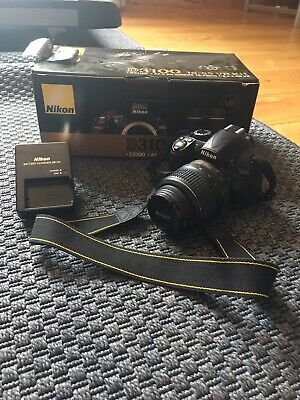 Ideal First Camera Nikon D3100 14.2MP DSLR- Black (Kit w/ AF-S DX 18-55mm)