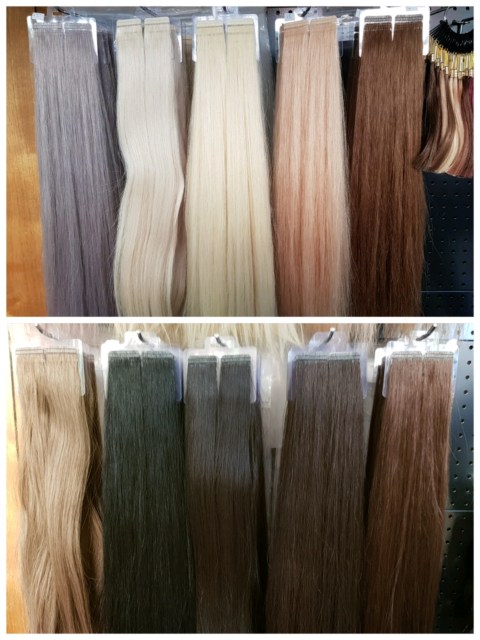Full Head Tape Hair Extensions Zippay Afterpay Hairdressing