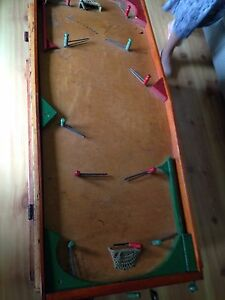 Antique hockey game