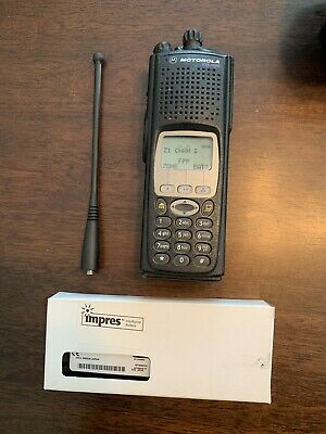 Motorola Xts 5000 800 Mhz M3 Fpp Latest Firmware Incl Impres Battery Antenna