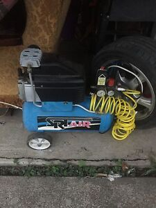 Air compressor with heaps attachments/ nozels Stafford Brisbane North West Preview