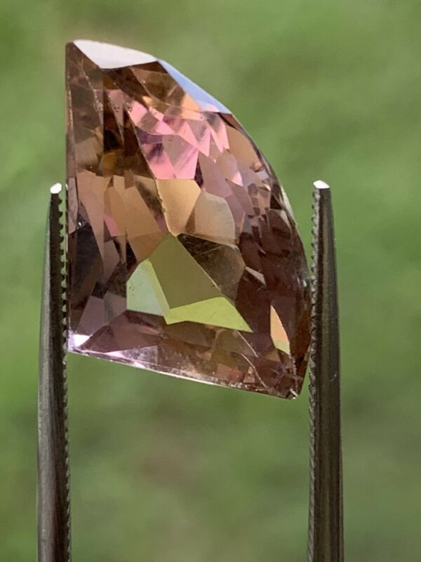 Fantasy Cut Natural Ametrine From Bolivia