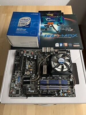Abit AW9-Max + Intel Core 2 Quad Q6600 + 8 GB DDR2 - 1000 RAM