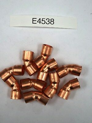 Copper Elbow 45 38 Industry Od Size 10 Pc