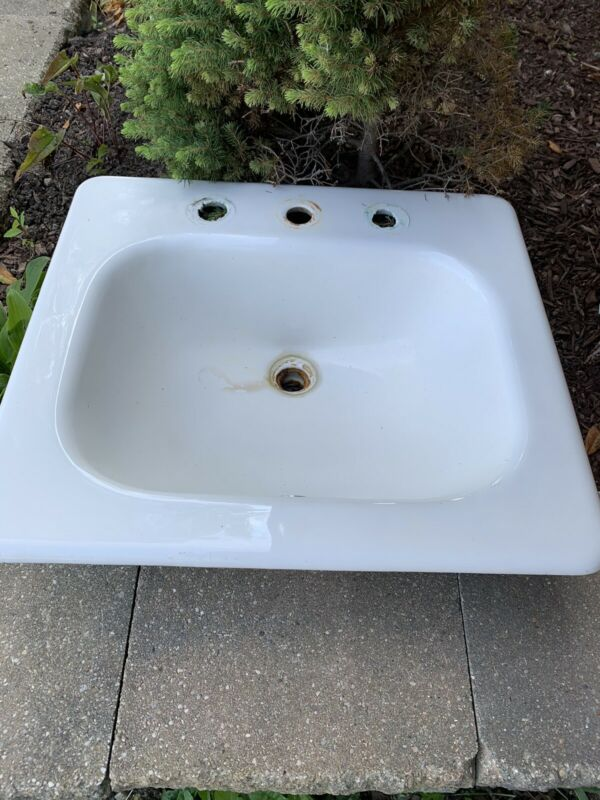 Vintage Cast Iron Kohler Bathroom Sink