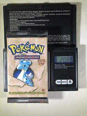 Artset 3x 1st Edition Sealed Fossil Booster Pack!Pokemon! L@@K!!