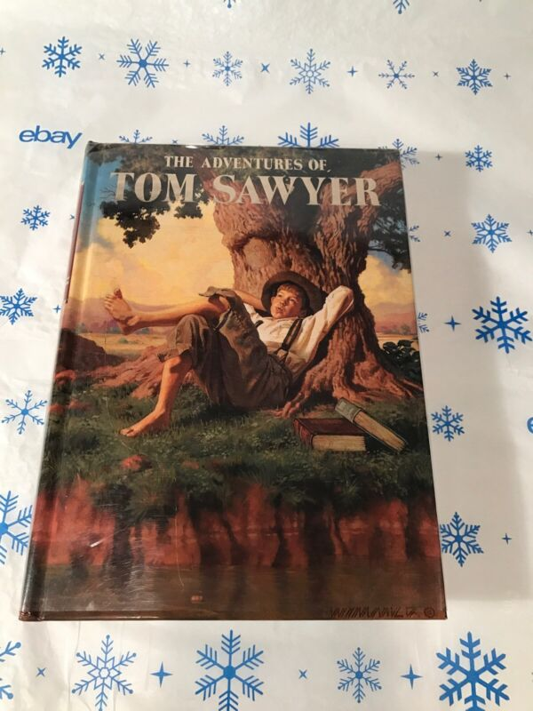 The Adventures Of Tom Sawyer~illustrated Junior Library~grosset & Dunlap~l.n. Ex