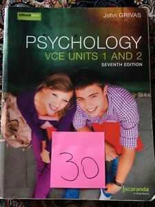 Psychology units 1&2 Cranbourne North Casey Area Preview