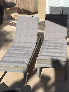 IKEA FALSTER TABLE, CHAIRS, BENCH, SUN LOUNGERS AND CUSHIONS! Bondi Beach Eastern Suburbs Preview